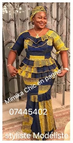 Dress Ankara Dress Styles, African Lace Dresses, Latest African Fashion Dresses, African Attire, African Wear, Royal Blue Lace Dress, African Traditional Dresses, Designer Blouse Patterns, Ghanaian Fashion
