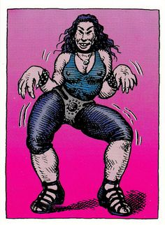 Devil Girl by Robert Crumb (underground comics)