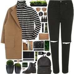 Megan by daniaindria on Polyvore featuring J.Crew, Topshop, Givenchy, CO, Lanvin, Barbour, Casetify, Christian Dior, NARS Cosmetics and MAKE UP FOR EVER