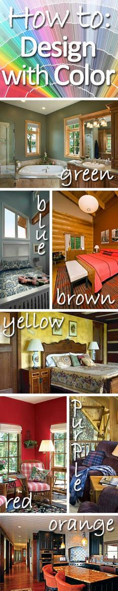 Interior Designer Stephanie Gauthier Of Wisconsin Log Homes Shares Theories Behind The Colors Used For
