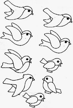 Фото: Spring Crafts For Kids, Summer Crafts, Art For Kids, Spring Birds, Spring Art, Winter Kids, Winter Art, Bird Crafts, Craft Stick Crafts