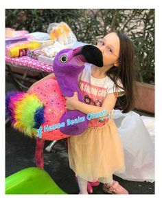 Oyuncak Kuş Gök kuşağı Flamingo Mega Büyük boy 120 cm Hediyecik.com.tr Online Oyuncak Hediye Alışveriş 7/24 Sipariş 0212 325 24 25
