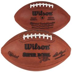 Super Bowl XII Wilson Official Game Football