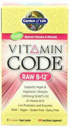 Vitamin B12 · Garden Of Life ...