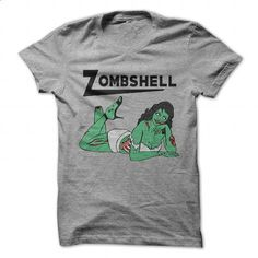 Zombshell - #shirt #custom shirt. ORDER NOW =>…