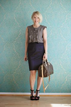 glam up your lifestyle : office look