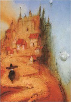 Hans Christian Andersen by Kirill Chelushkin