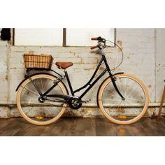 Bicicleta  mujer Reid Deluxe 3 Velocidades negro