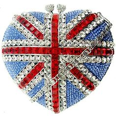 Bling-Diddly-Bling-Bling. Swarovski Crystals Clutch Heart Bag by Butler and Wilson.... <3