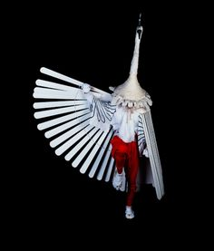 Heron Dance of Tsuwano Yasaka Shrine, Shimane Prefecture, japan Japanese Culture, Japanese Art, Traditional Japanese, Charles Freger, Top Photographers, Beautiful Costumes, Wearable Art, New Art, Folk Art