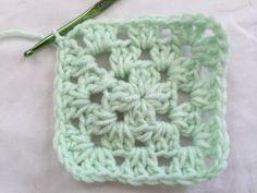 10 Free Crochet Coaster Patterns: Classic Granny Square Crochet Coaster