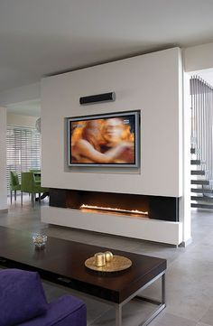 Ortal | Ortal Clear 150 Glass Front Fireplace by Fireplaces Unlimited