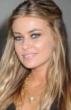 My obsession with Carmen Electra's Hair and her 1N1 or 2N1 doublewear foundation look