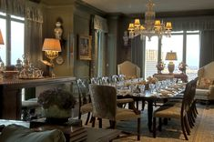 great wall and trim color Cathy Kincaid Interiors | Cathy Kincaid Interiors