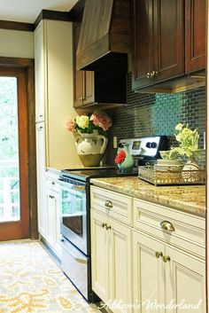 Another view of our cabin kitchen renovation! Sharing details on our renovation and tips on decorating and remodeling a small space. Sponsored by HomeGoods.