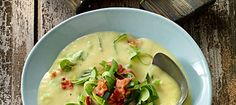 potato soup with leeks Leek Recipes, Easy Cooking, Pumpkin Spice, Healthy Snacks, Healthy Life, Snack Recipes, Baking Recipes, Good Food, Food Porn