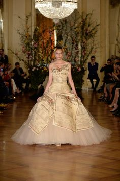 DOLCE & GABBANA - ALTA MODA  SPRING / SUMMER COLLECTION 2015 #EZONEFASHION