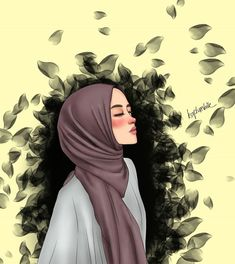 The actual scarf is the most essential item inside outfits of ladies along with hijab. Girl Cartoon, Cartoon Art, Cute Cartoon, Cartoon Memes, Cartoon Characters, Girly Drawings, Cartoon Drawings, Tmblr Girl, Instagram Cartoon