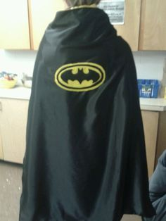 Adult batman cape From DandieLyons on facebook
