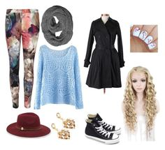 """""""School outfit #1"""" by sharkgirl221 on Polyvore featuring Ted Baker, Theory, Converse and Vince Camuto"""