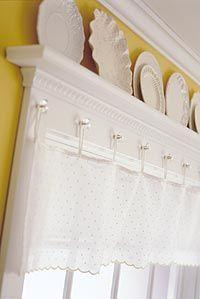 curtain & shelf  Top It Off