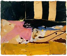 Alfred Leslie, Untited, 1959. Mixed media and collage on paper, 9 x 11 inches. Courtesy of Allan Stone Gallery