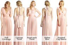 infinity dress styles - Google Search