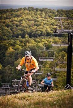 Mountain Bike Trails - Northern Michigan Mountain Biking - Crystal Mountain Michigan