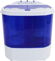 Buy ROVSUN 10 LBS Portable Washing Machine Twin Tub Electric Compact Mini Washer, Energy/Save Space, Laundry Spin Cycle w/Hose, Perfect Home RV Camping Dorms College Room online - Looknewclothingshop Mini Washing Machine, Portable Washing Machine, California King Platform Bed, Spin Dryers, Dryers For Sale, Juicer Machine, Drain Pump, College Room, Flatware Set