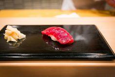 Akami (Tuna) by Sukiyabashi Jiro, via Flickr