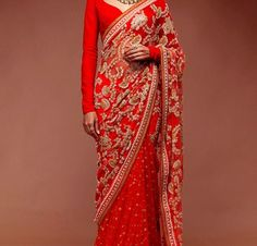 After bride or groom it is also important for all the mother's to look beautiful on her son/daughter wedding. Here, shaadi magic suggests some beautiful sarees for beautiful mother's.