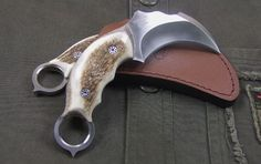 flint knapped karambit - Google Search