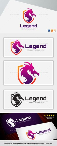The Legend Logo Design Template Vector #logotype Download it here: http://graphicriver.net/item/the-legend/8939601?s_rank=727?ref=nexion