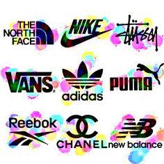 Typography Logo, Art Logo, Logo Branding, Clothing Brand Logos, Brand Stickers, Pretty Quotes, Retro Logos, Logo Sticker, Printing Labels