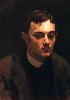 John Singer Sargent - Portrait of Albert de Belleroche