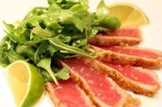The Secret Ingredient (Wasabi): Wasabi Pea-Crusted Rare-Seared Tuna | Serious Eats