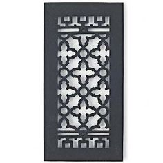 Scroll vent cover grille home decor