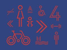 Parc Olympique Visual Identity by