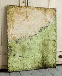 """Fresh Green"" Framed Wall Painting By Christian Hetzel"
