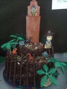 Andys dinosaur adventure cake