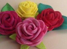 50 Mejores Imagenes De Flores De Fomi Paper Flowers Fabric