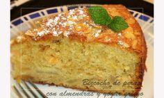 Bizcocho de peras con almendras y yogur griego  ¡¡Estupendo y delicioso bizcocho!! Muy jugoso y súper esponjoso que hará las delicias de una merienda o un estupendo postre.  --------------------- El video en You Tube : http://youtu.be/NDJ4DI8Ixm8 ---------------------- Tambien en mi blog : http://lacocinadelolidominguez.blogspot.com.es/2014/03/bizcocho-de-peras-con-almendras-y-yogur.html  -----------------------