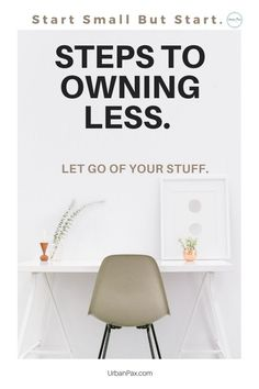 When you start your decluttering mission and decide to own less, the benefits of enjoying your home increases. You feel free from clutter, have more space and know when it's enough.