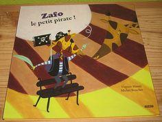 Zafo, le petit pirate ! Virginie Hanna Michel Boucher Editions Auzou