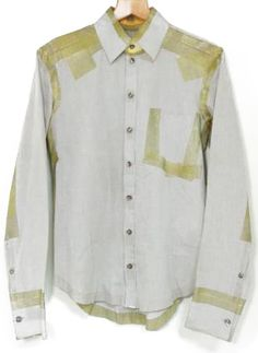"""""""Scotch Tape"""" Button-Down From Carol Christian Poell""""Space -..."""