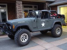 Wicked cool Jeepster Commando!