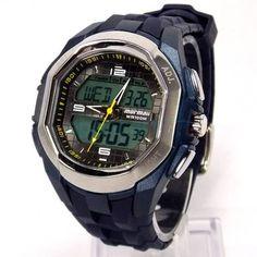 AD125A 8A Relógio Mormaii Digital, Masculino, Pulseira de Borracha Azul. 98dc3505c9