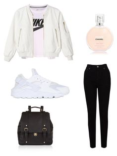 """Geen titel #9"" by yasminael on Polyvore featuring mode, Accessorize, NIKE en EAST"