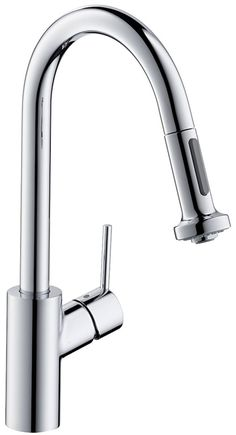hansgrohe Kitchen mixers: Talis Single lever kitchen mixer 220 with collapsible body and pull-out spray and sBox, 2 spray modes, Item No. Hose Box, Bathroom Showrooms, Kitchen Mixer Taps, Kitchen Installation, Shower Hose, Shower Panels, Mixers, Cool Kitchens, Innovation