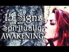 15 Signs You Are Spiritually Awakening ~ The White Witch Parlour - YouTube